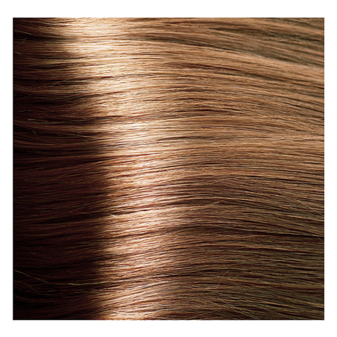 Крем краска для волос с гиалуроновой кислотой Kapous, 100 мл - HY 7.33 Блондин золотистый интенсивный