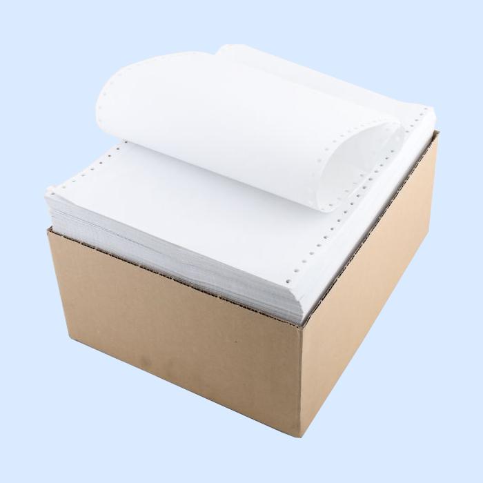 Бумага ЛПУ  375х305х2000 в стопе, с  перф.