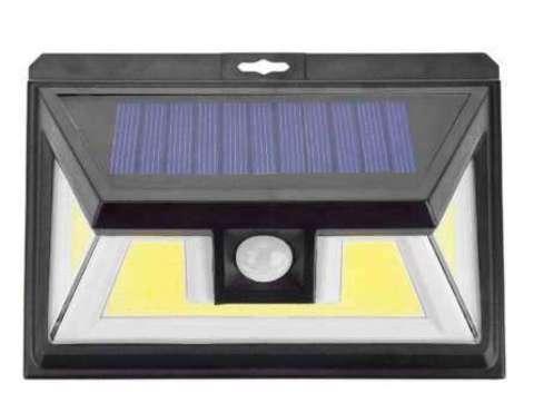 Светильник светодиодный SolarWallLight 20W, солн. панель, датчики освещ. и движения   1/100