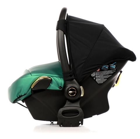 Автокресло JUNAMA FLUO LINE  (Кожа) зеленое  AJ-F02