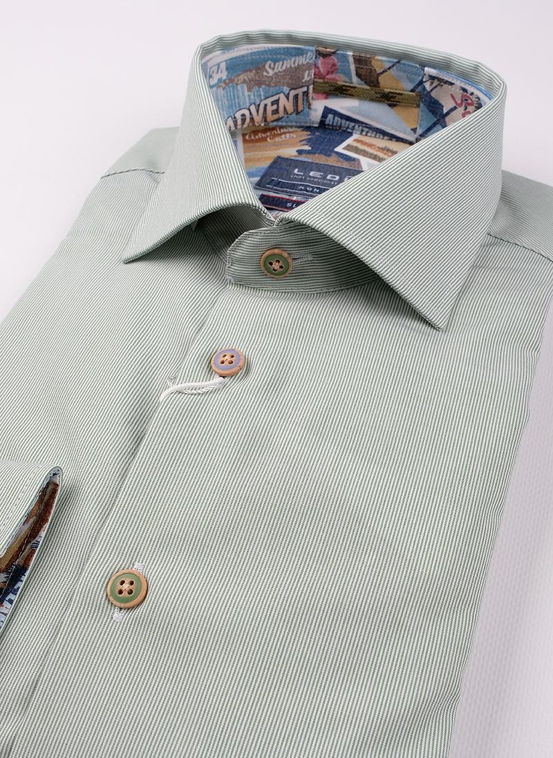 Рубашка Ledub slim fit 0138806-530-102-180