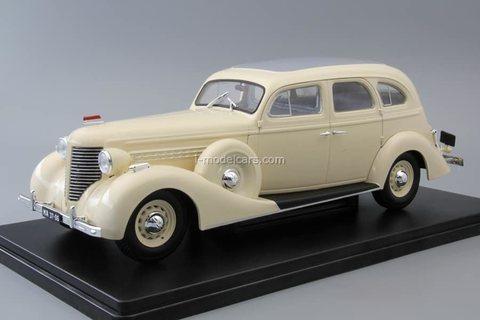 ZIS-101A beige 1:24 Legendary Soviet cars Hachette #23