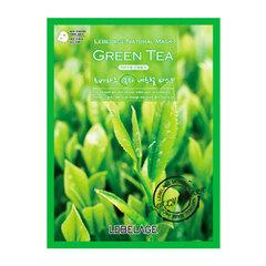 Lebelage Green Tea Natural Mask - Тканевая маска для лица с экстрактом зеленого чая