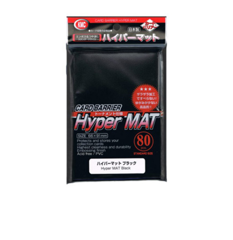 KMC Sleeves: Hypermat Black