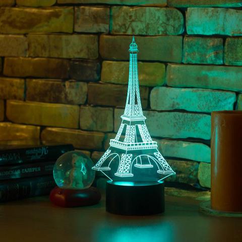 3D лампа Эйфелева башня