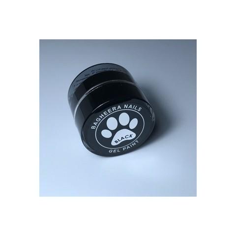 Bagheera Nails Чёрная гель-краска