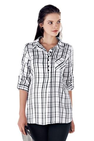 Рубашка для беременных 10807 клетка