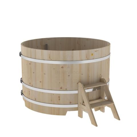 Купель круглая из кедра d=1,50х1,0
