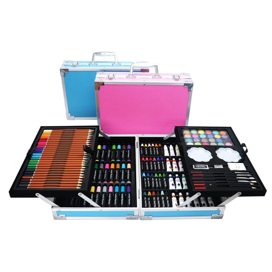 Для рисования и творчества Набор для рисования в чемоданчике 145 предметов 145-predmetov.jpg