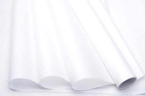 Бумага белая крафт 50г/ м2, 70 см x 10 м