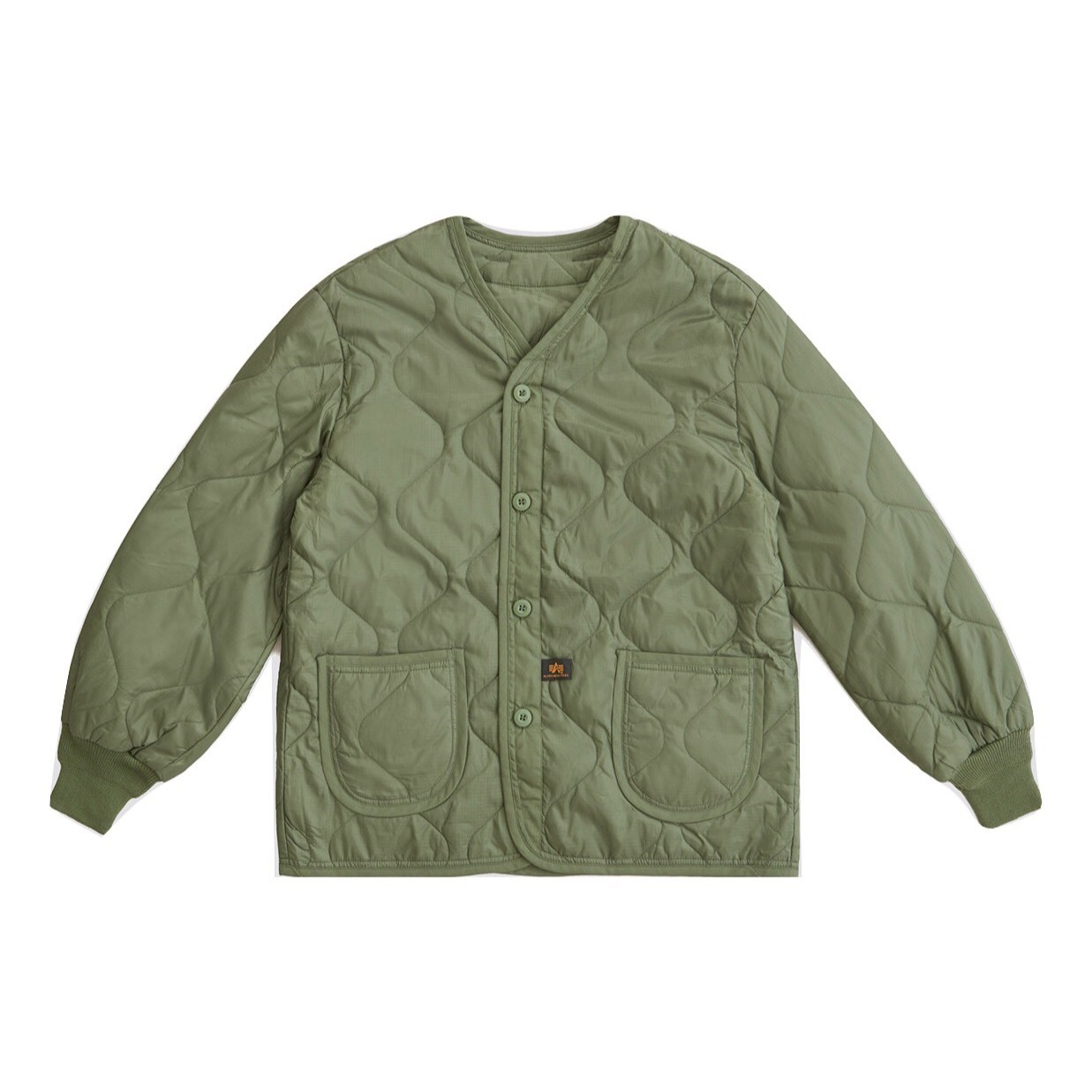 Подкладка для куртки Alpha Industries M-65 Olive Drab (Зеленый)