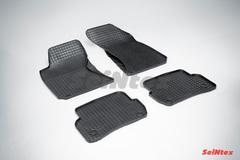 """Резиновые коврики """"Сетка"""" для Volkswagen Passat (1996-2005)"""