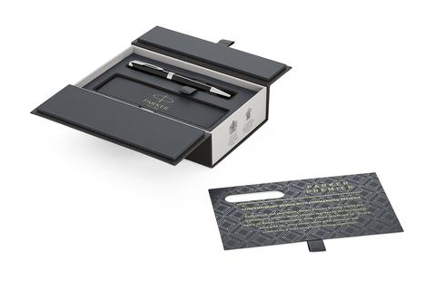 Шариковая ручка Parker Premier  K560, Lacquer Black СT, MBlack123