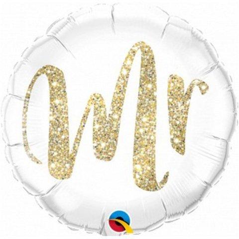 Фольгированный шар круг , Mr, 46 см