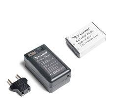 Аккумулятор для фото и видео камер в комплекте с зарядным устройством Fujimi LP-E17 (аналог Canon LP-E17 и LC-E17)