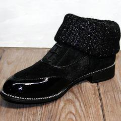 Полуботинки оксфорды женские Kluchini 5161 k255 Black