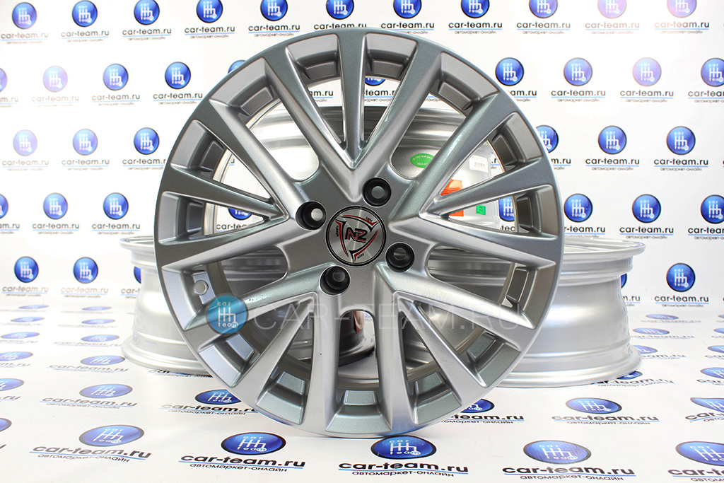 Диск Камрики R15 серебро рестайлинг на автомобили Лада (4шт)