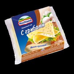 """Сыр плавленый """"Hochland"""" с грибами, 150 г"""