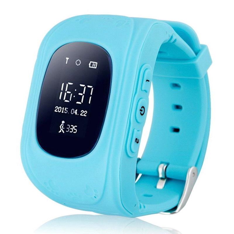 Голубой цветовой вариант Smart Baby Watch q50