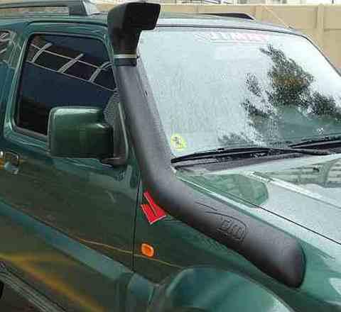 Установка шноркеля на Suzuki Jimny