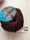 Пряжа Ornaghi Maxi Wool шоколад 06