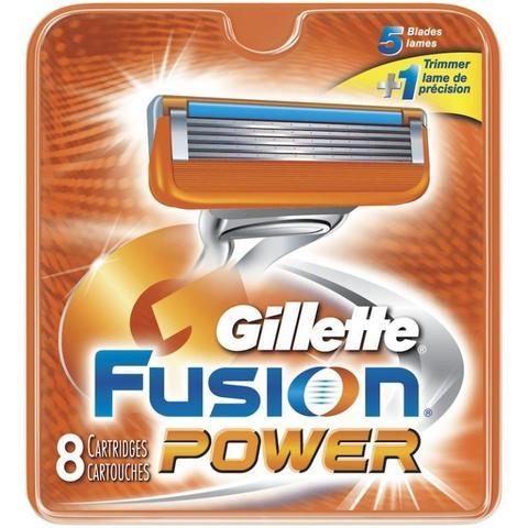 Gillette Fusion Power cменные кассеты (картриджи) для бритья