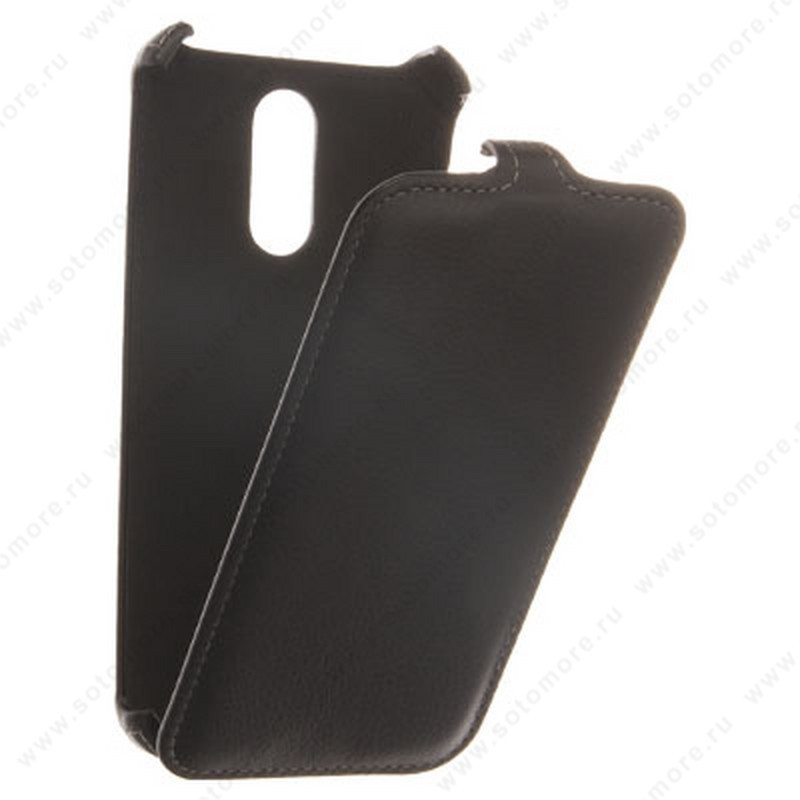 Чехол-флип Armor Case для Xiaomi Redmi Note 3 Pro/ Redmi Note 3 - Exakted Series книжка черный