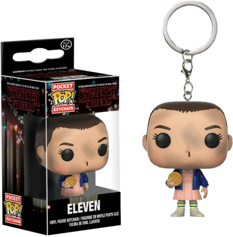 Брелок Одинадцатая || POP! Keychain Eleven (Stranger Things)