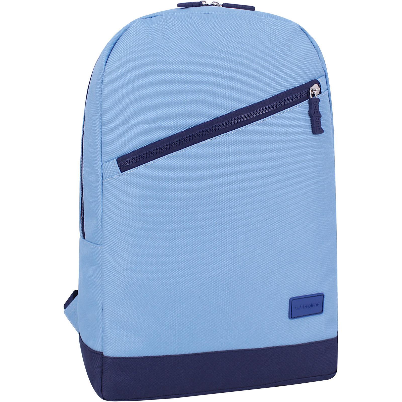 Городские рюкзаки Рюкзак Bagland Amber 15 л. голубой/чернильный (0010466) IMG_5262.JPG