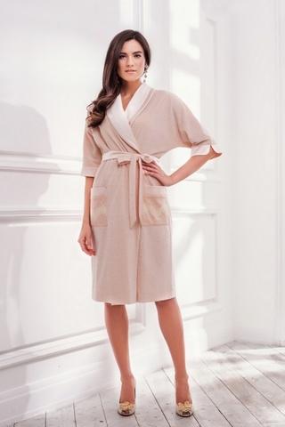LAETE Халат - кимоно из хлопка с узором 20247