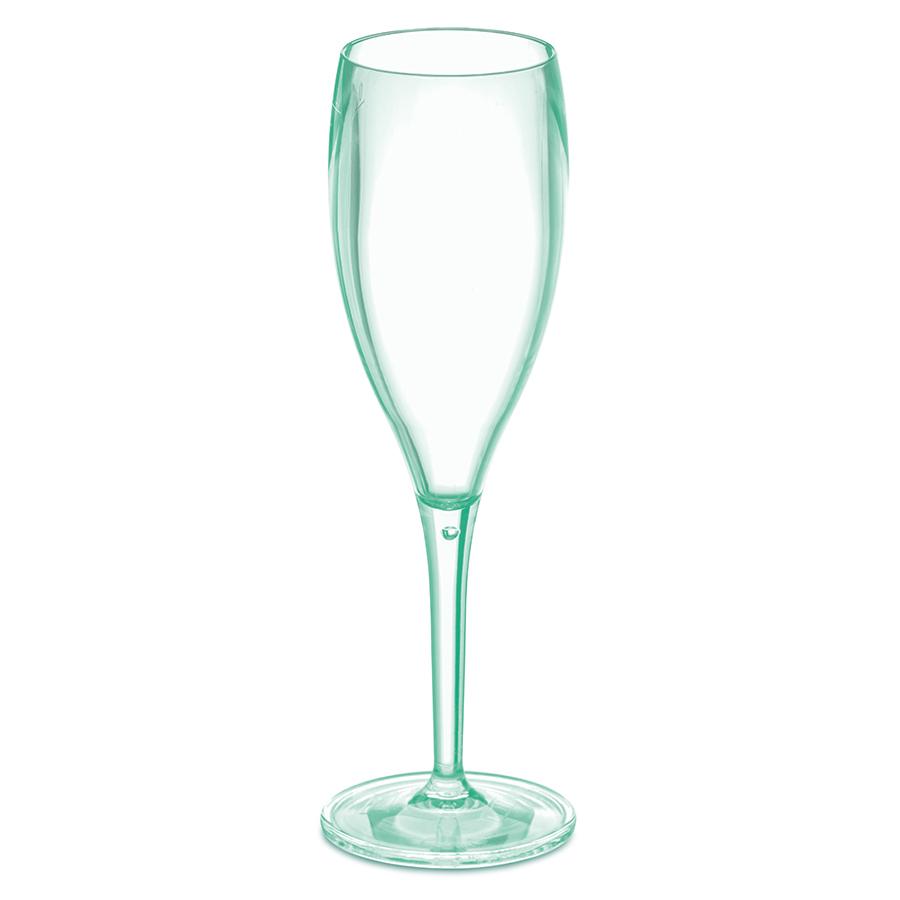 Набор бокалов для шампанского 4 шт Superglas CHEERS NO. 1, 100 мл, мятный