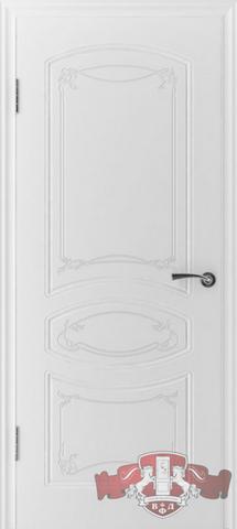 Дверь 13ДГ0 (белая эмаль, глухая шпонированная), фабрика Владимирская фабрика дверей