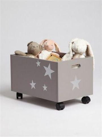 Ящик - каталка для игрушек