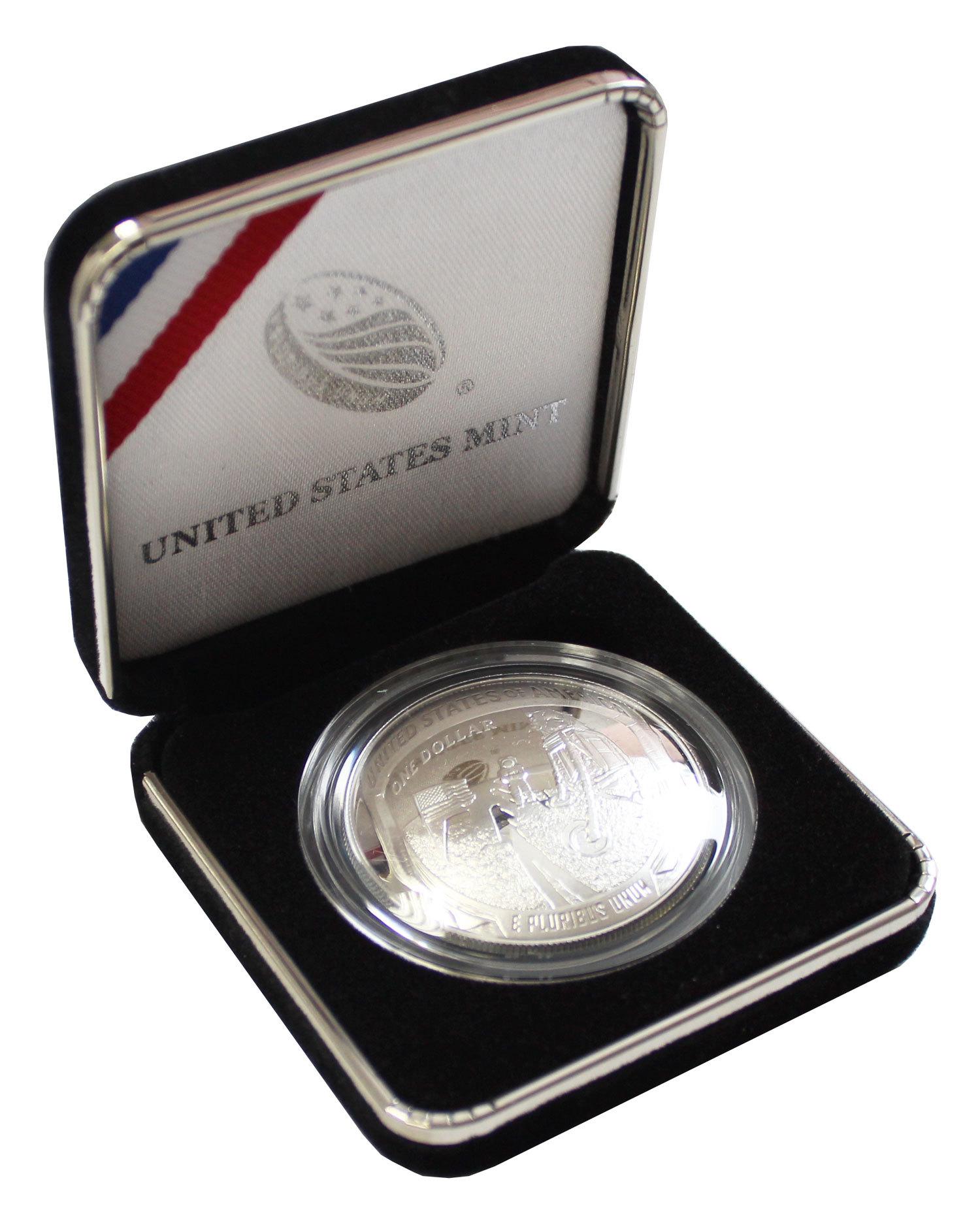 1 доллар США - Аполлон 11. 2019 год. PROOF