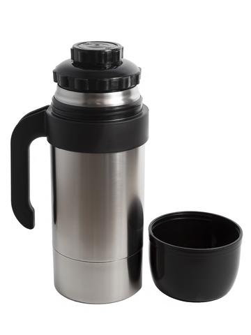 Термос универсальный (для еды и напитков) Амет КU Турист-Н (1,25 литра), стальной