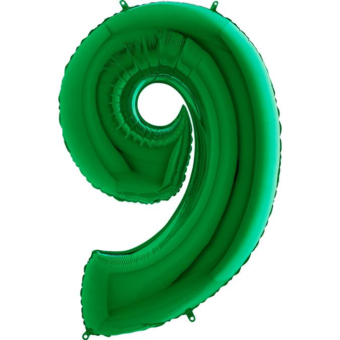 Шары цифры Шар цифра 9 Зеленая 039gr-number-9-green.jpg