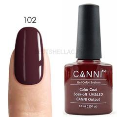 Canni, Гель-лак № 102, 7,3 мл