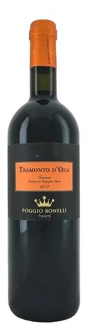 Вино Трамонто д'Ока Тоскана красное сухое выдерж. з.г.у кат. IGT рег.Тоскана 0,75л Италия