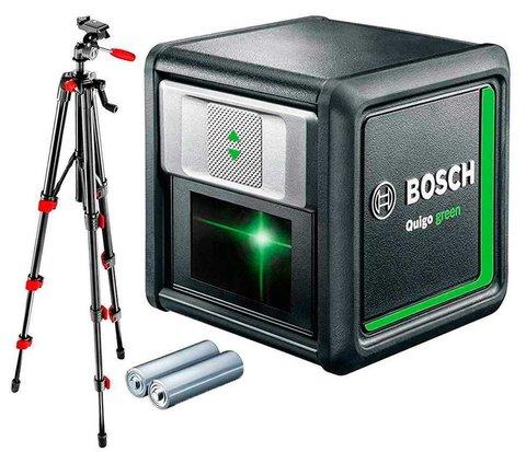 Лазерный нивелир BOSCH Quigo green + штатив 0603663C01
