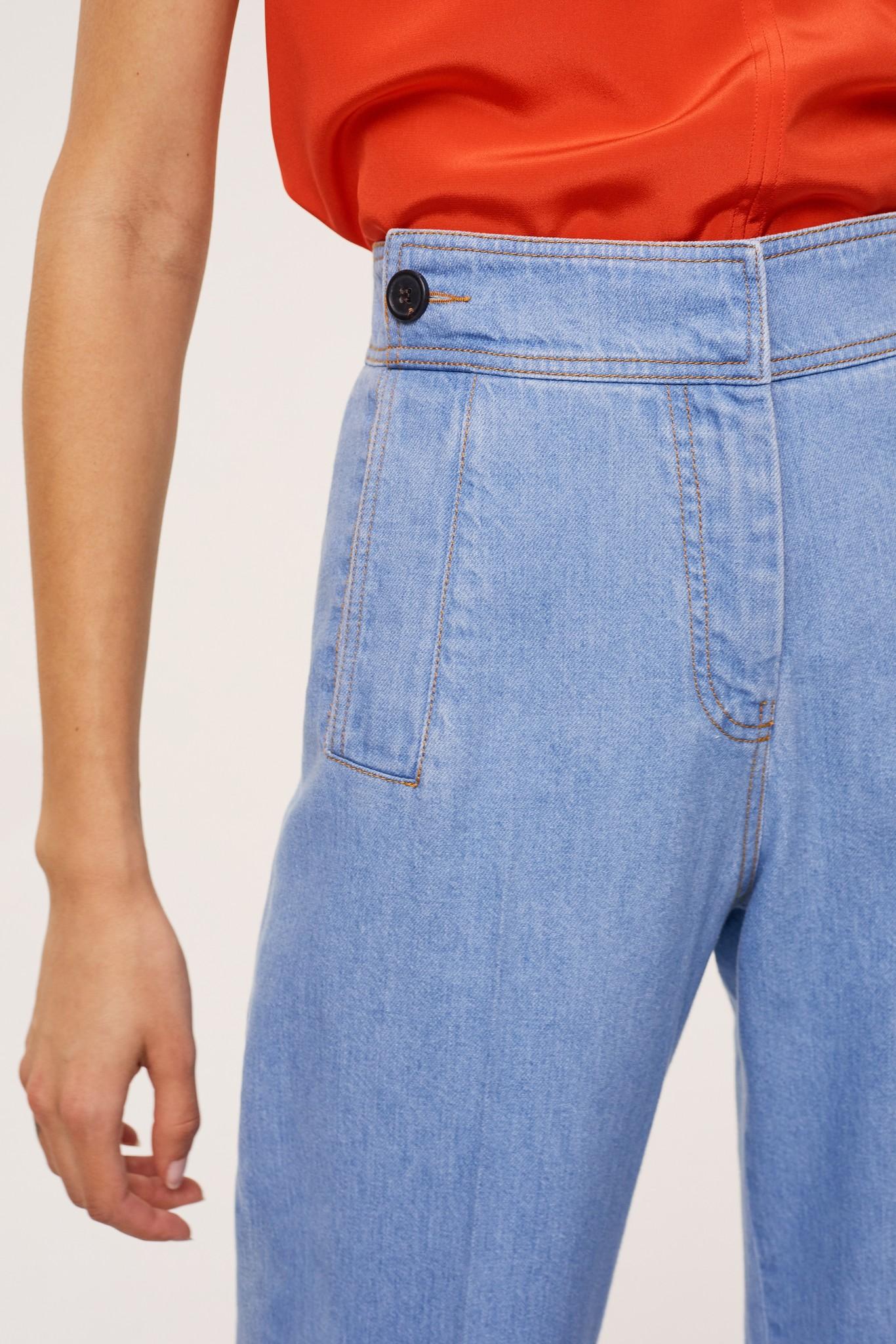 JASON - Легкие джинсы-морячка