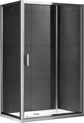 Душевой уголок Gemy Victoria S30191D-A80 110х80 см