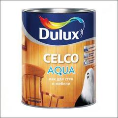 Лак по дереву Dulux CELCO AQUA 70 глянцевый (Прозрачный)