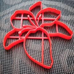 Лилия форма для пряника
