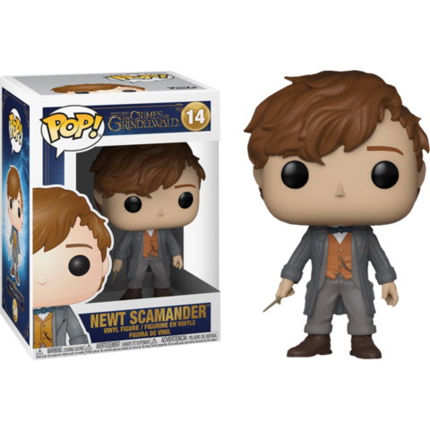 Фигурка Funko Pop! Movies: Fantastic Beasts 2: The Crimes Of Grindelwald - Newt Scamander