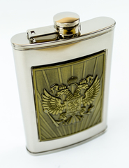 Фляжка «Герб Российской Империи», 270 мл, фото 2