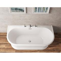 Ванна отдельностоящая 170х80 см BelBagno BB408-1700-800 фото