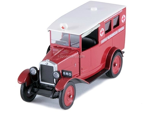 AMO-F-15 Ambulance USSR 1:43 DeAgostini Service Vehicle #32