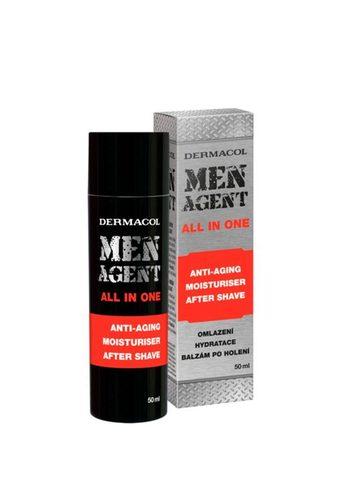 Dermacol Men Agent Омолаживающий гель-крем и бальзам после бритья, 50мл
