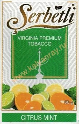 Serbetli Citrus Mint
