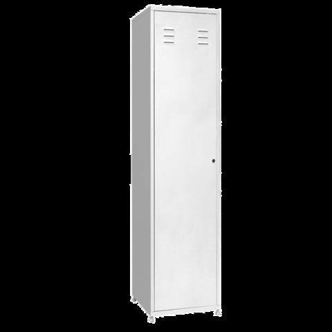 Шкаф металлический для одежды одностворчатый МСК - 650 - фото